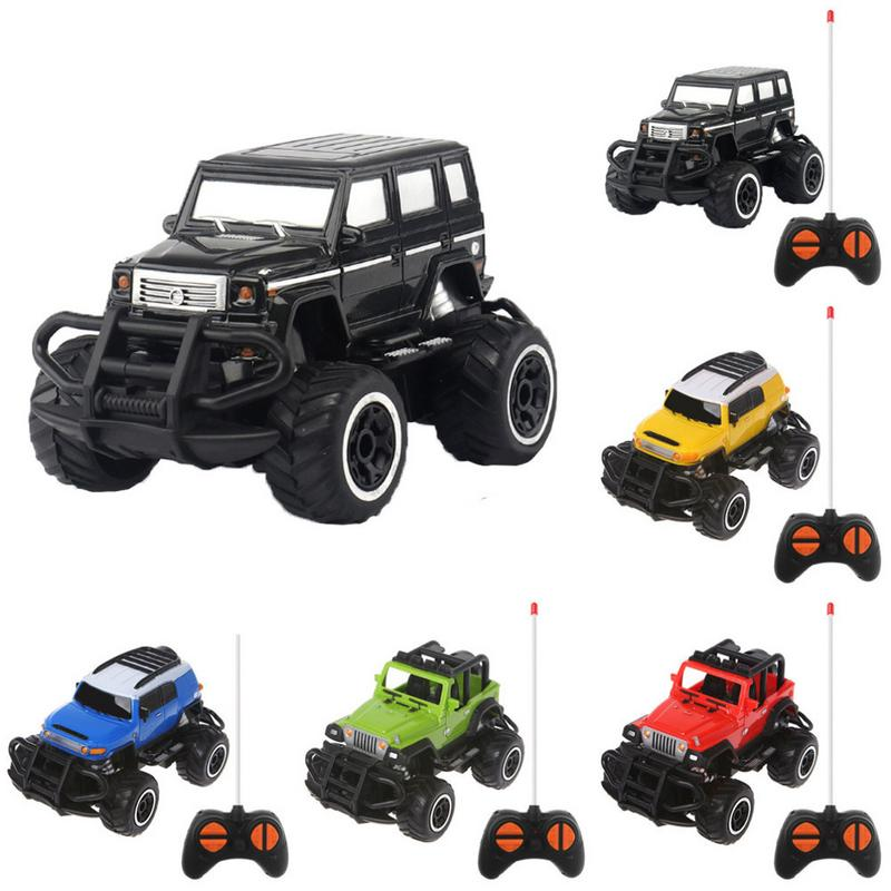 1:43 Mini Remote Control Car RC Toy For Children Off-road 4 Channel Electric Model Toy Remote Control Toy