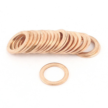 Gasket Seal Copper Washer 20 10 mm x 14 1 Solid Flat
