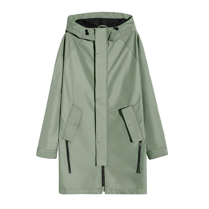 Pioneer kamp lange trenchcoat mannen merk kleding casual hooded heren overjas kwaliteit windjack mannelijke jas-in Loopgraaf van Mannenkleding op  Groep 1