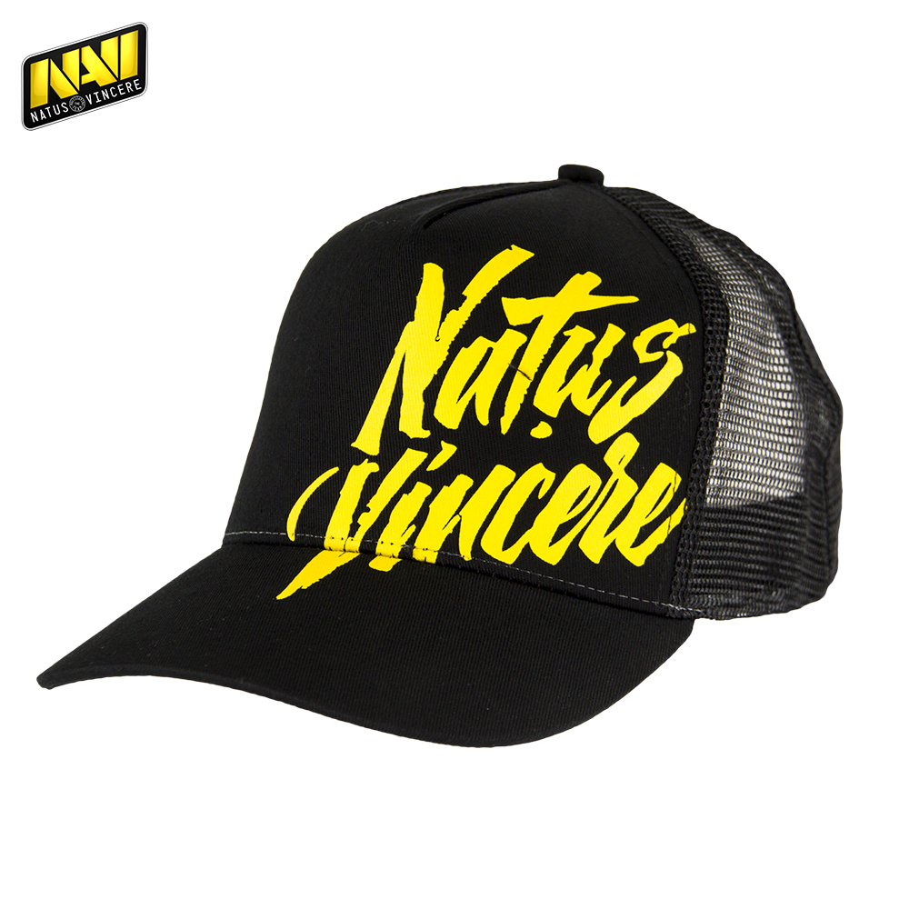 Baseball Caps NATUS VINCERE FNVTRUCAP17BK0000 Hats peaked cap for boys and girls girl boy summer snapback NAVI CS:GO Dota 2 unisex letter w embroidery denim washed baseball cap vintage adjustable snapback hat