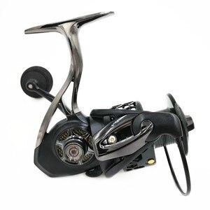 Image 5 - Mavllos Carp Fishing Spinning Reel 14+1BB Speed Ratio 5.5:1 1000 2000 3000 7000 Double Spool Metal Saltwater Boat Fishing Reel