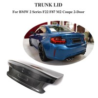 Carbon Fiber For BMW F22 F87 M2 Base Coupe M Sport 2Door 2014 2018 Rear Trunk Spoiler Boot Wing Lip