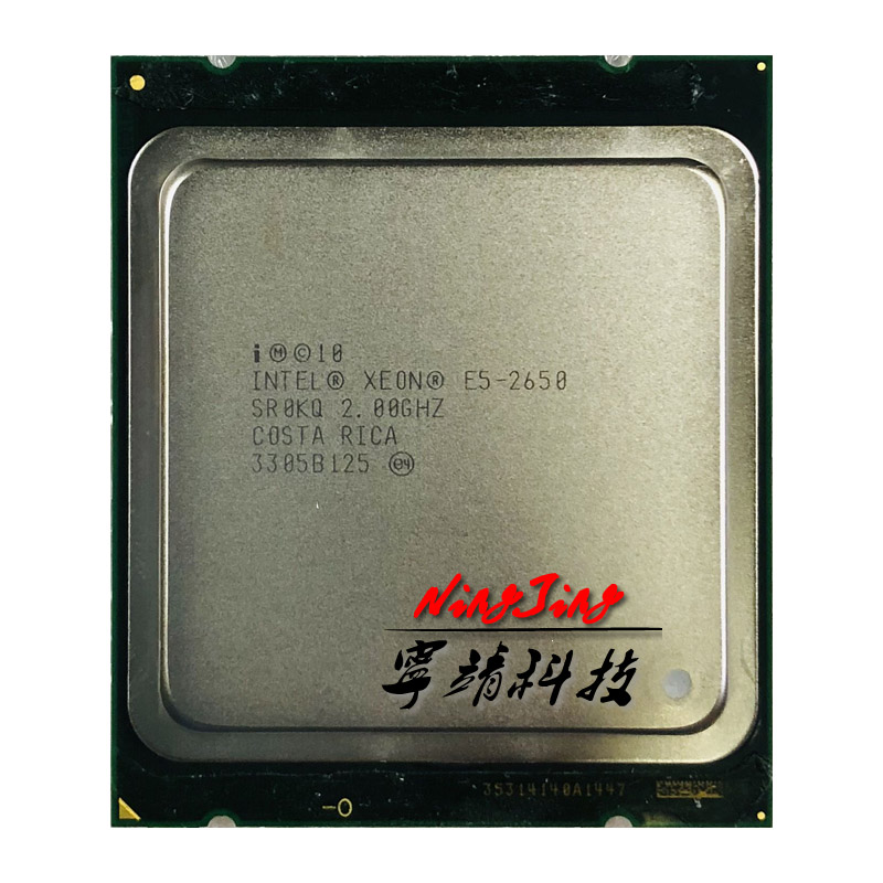 Intel Xeon E5 2650 E5 2650 2 0 GHz Eight Core Sixteen Thread CPU Processor 20M