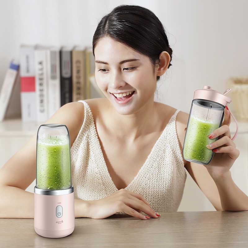 Xiaomi deerma Espremedor automático sem fio em casa frutas e legumes multi-função mini-estudante de suco máquina de suco elétrico