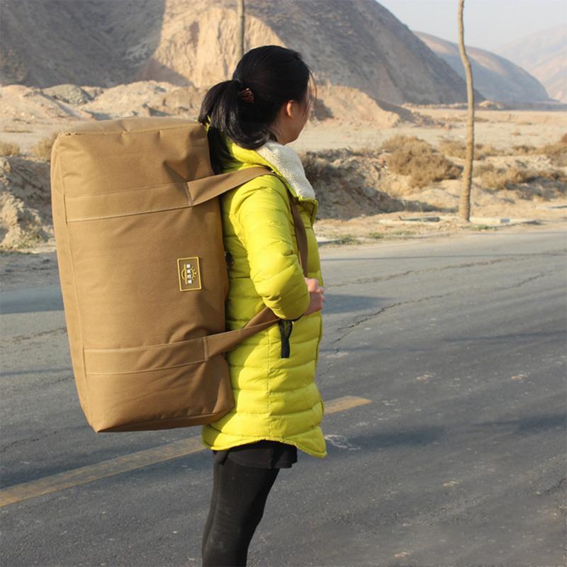 Campeggio Impermeabile di Di Grande Da Forma Yoga Esterna Alpinismo Sacchetto Viaggio Bagaglio borsa Capacità Di Fisica Portatile Borsa Del PPx1rqAwR