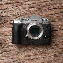 Mr. Stone бренд ручной работы из натуральной кожи чехол для камеры Сумка половина тела камеры для Fujifilm XT3 FUJI X-T3