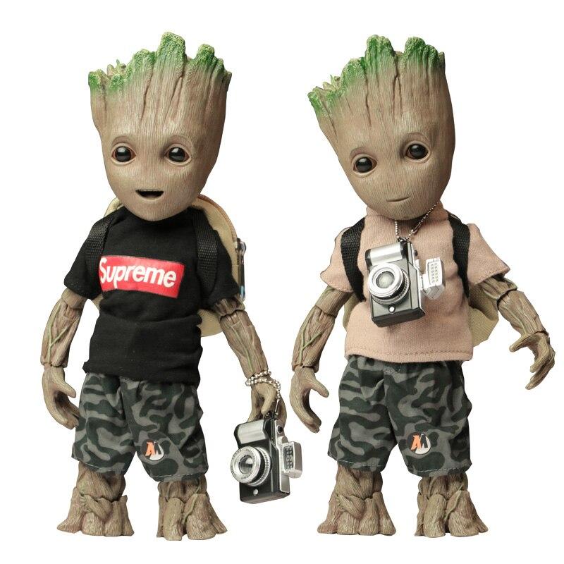 Groot belle gardiens de la galaxie arbre homme jouet les Avengers super-héros modèle poupée 1/1 garçon cadeau