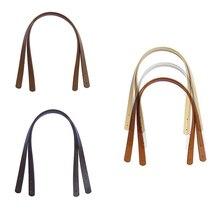 SFG HOUSE 2 Pcs Bag Belts Detachable PU Handle Shoulder Bag DIY Replacement Accessories Leather Belts  Solid Color Bags Parts недорго, оригинальная цена