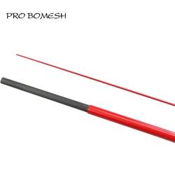 Pro Bomesh 2 Set In Bianco 2.1 m 2 Sezione UL Alimentazione MF Azione Trota Asta In Bianco FAI DA TE Personalizzati Rod Building di riparazione