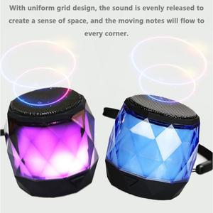Image 5 - Portable Speaker Wireless Mini Bluetooth Player Small Diamond Shape Subwoofer Stereo Hd Sounds Music Surrounding Devices Home