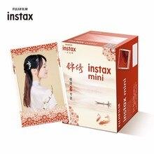 Fujifilm Instax Mini Film JinXiu 30 arkuszy/paczek papier fotograficzny do Fuji aparat natychmiastowy 8/7s/25/50/90/sp 1/sp 2 z pakietem