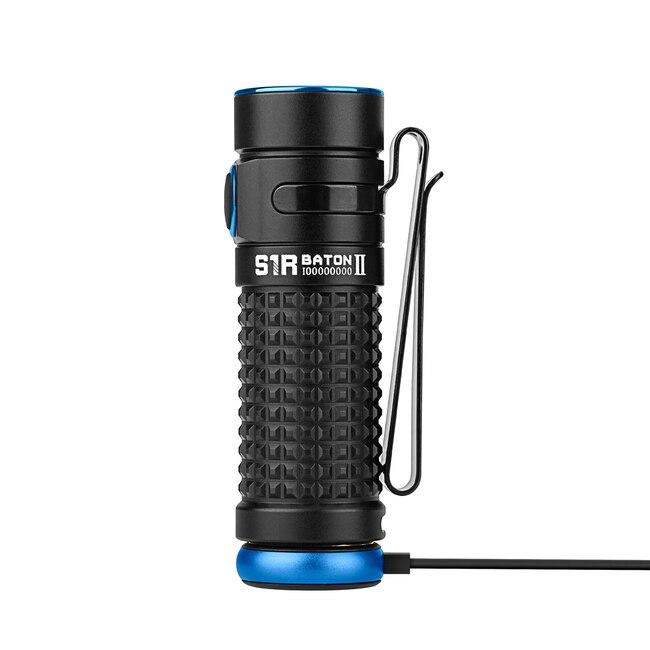 New Olight S1R II Baton 1000 Lumen Rechargeable LED Flashlight