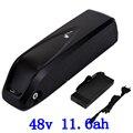 США  ЕС  без налога  батарея 48 В 11.6AH 750 Вт  для использования  Panasonic  литий-ионный аккумулятор 2A  зарядное устройство  встроенный 20A BMS 48 В 12AH  бат...