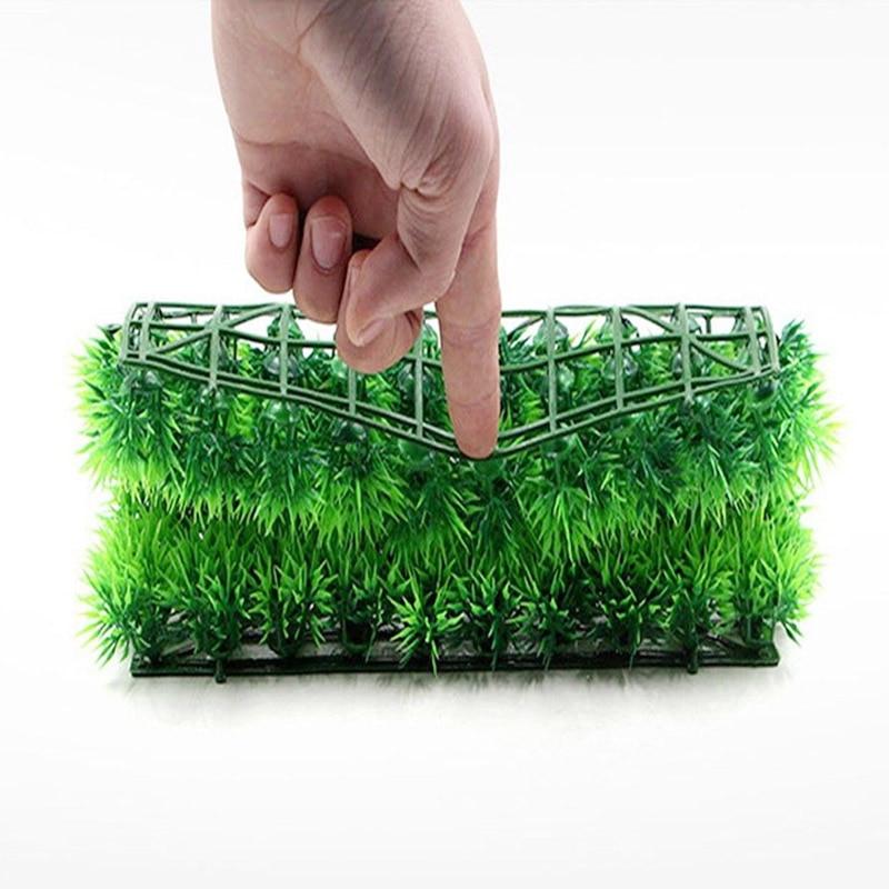 Sale Plastic Artificial Water Grass Lawn Weeds Aquarium Ornament Aquatic Simulation Plant Fish Tank Decoration