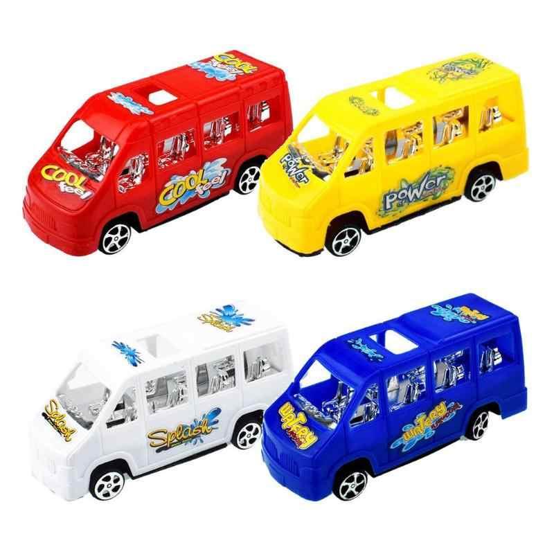 Tarik Kembali Mobil Mainan Mobil Anak-anak Balap Mobil Bayi Mini Mobil Kartun Menarik Kembali Bus Truk Mainan Anak-anak untuk Anak-anak anak Hadiah Natal