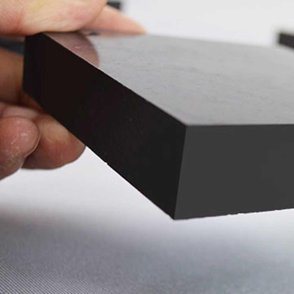 3 шт. Премиум Черные амбушюры прочные резиновые блоки настольная Подушка мебель стоящий горшок ноги движущийся ящик поставки для буферизации шок