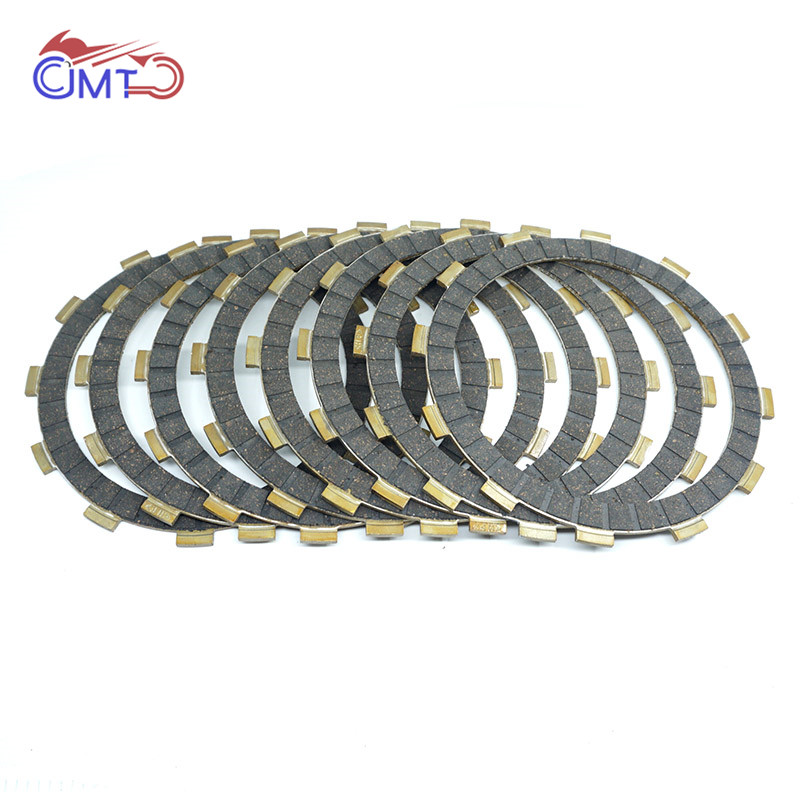 For Honda CR250R 90-07 CRF450R 02-10 CRF450X 05-18 CR500R 90-01 Dirt Bike Vintage Motocross Clutch Friction Disc Plate Kit 8P