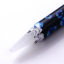 1 шт драгоценный камень кристалл Стразы пикап карандаш восковая Ручка инструмент для дизайна ногтей