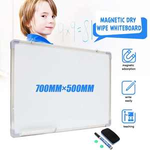 Magnetic Whiteboard Erase Office Double-Side School with 500x700mm Pen