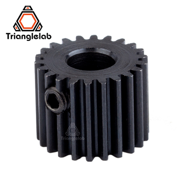Trianglelab 3d printer parts Titan gears for FDM 3d printer titan extruder i3 extruder motor gears 3d printer parts cyclops 2 in 1 out 2 colors hotend 0 4 1 75mm 12v 24v fan bowden with titan bulldog extruder multi color nozzle