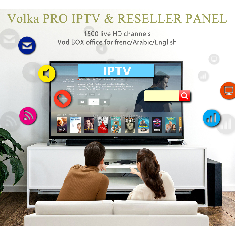 🛒 [HOT DEAL] | Android tv box VOLKA PRO Iptv Subscription