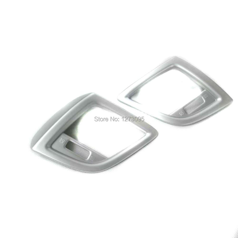 купить For Mazda 3 2017 2018 ABS Inner Air Conditioning AC Vents Outlet Trim Cover Car Styling Accessory