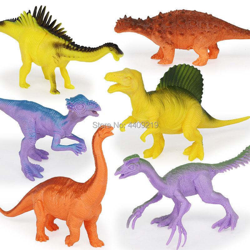 Image 3 - 21Styles Action&Toy Figures Model Brachiosaurus Plesiosaur Tyrannosaurus Dragon Dinosaur Collection Animal Collection Model Toys-in Action & Toy Figures from Toys & Hobbies