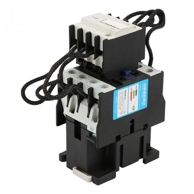 US $210 28 OFFCJ19 32/11 32A 220V 18KVAr Switch Over Capacitor Duty  Contactor AC Capacitor Contactor For Motor Control And Protection new-in