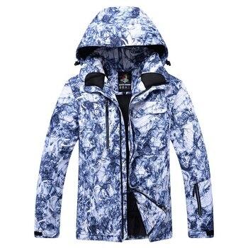 ARCTIC QUEEN -30 New Men Professional Snowboarding Jackets Skiing Clothing 10K Waterproof Windproof Winter Costumes Snow Jacke