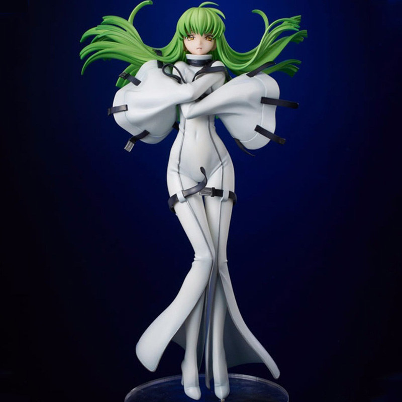 CODE GEASS Japan Anime Action Figure CODE GEASS Lelouch of The Rebellion C.C. 23CM Figure Toy Christmas Gift For Children Kids  CODE GEASS Japan Anime Action Figure CODE GEASS Lelouch of The Rebellion C.C. 23CM Figure Toy Christmas Gift For Children Kids