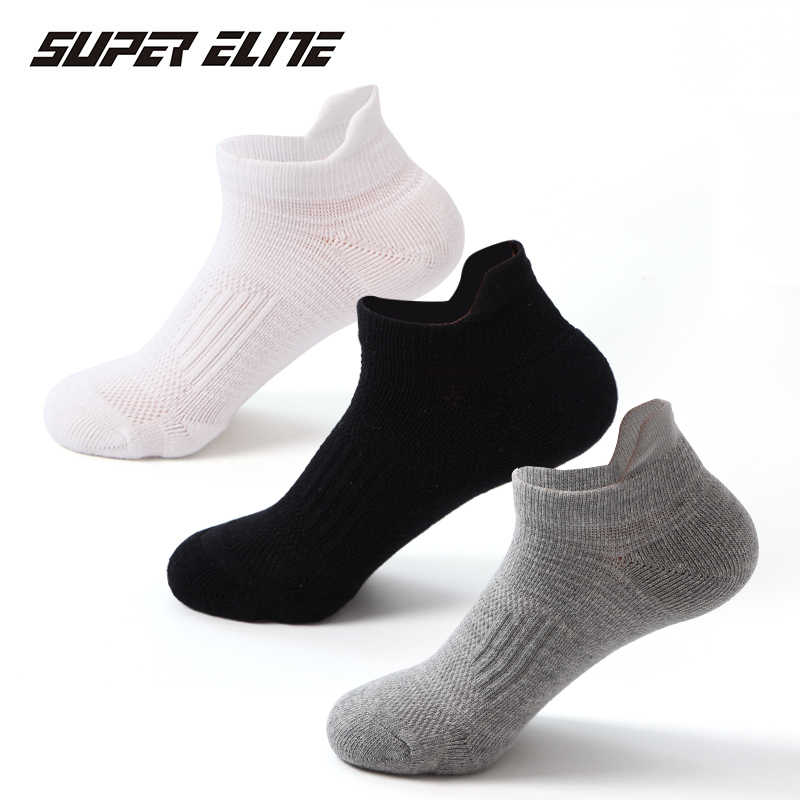Super Elite Professional Sports Socks Unisex Fitness Cycling Running Boat Tennis Summer Soft Sock Sport Men Woman Women Slippers
