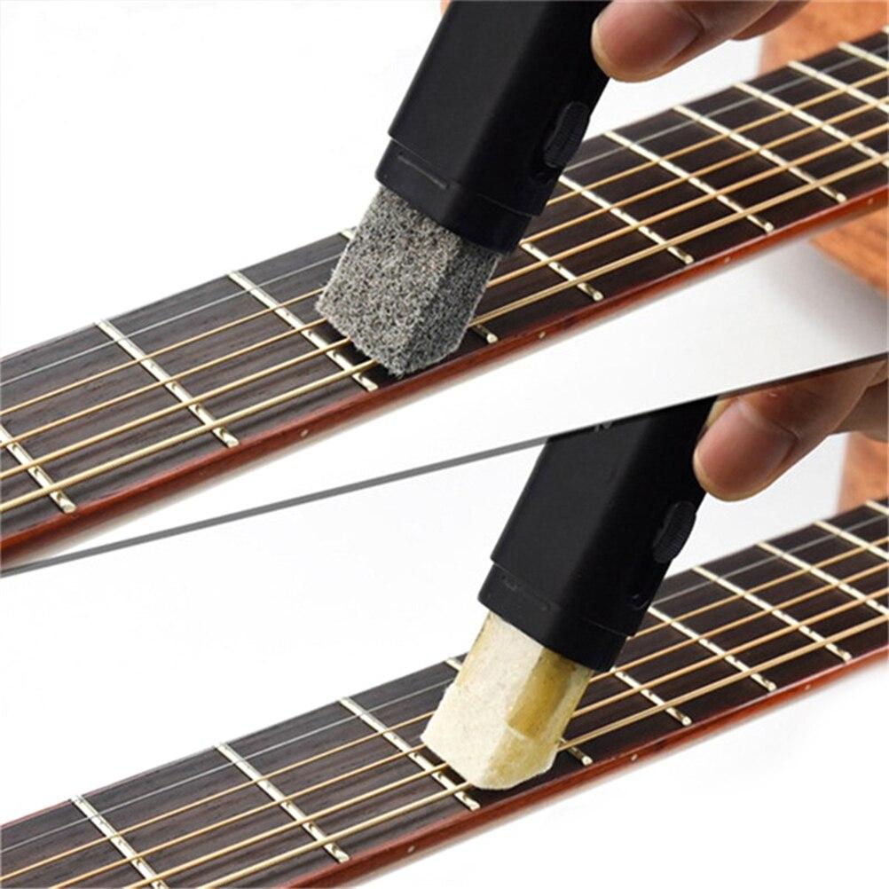 Cordes de guitare déroutante brosse stylo cordes Anti rouille guitare nettoyant chaîne soin huile gomme accessoires de guitare Pièces et accessoires de guitare    - AliExpress