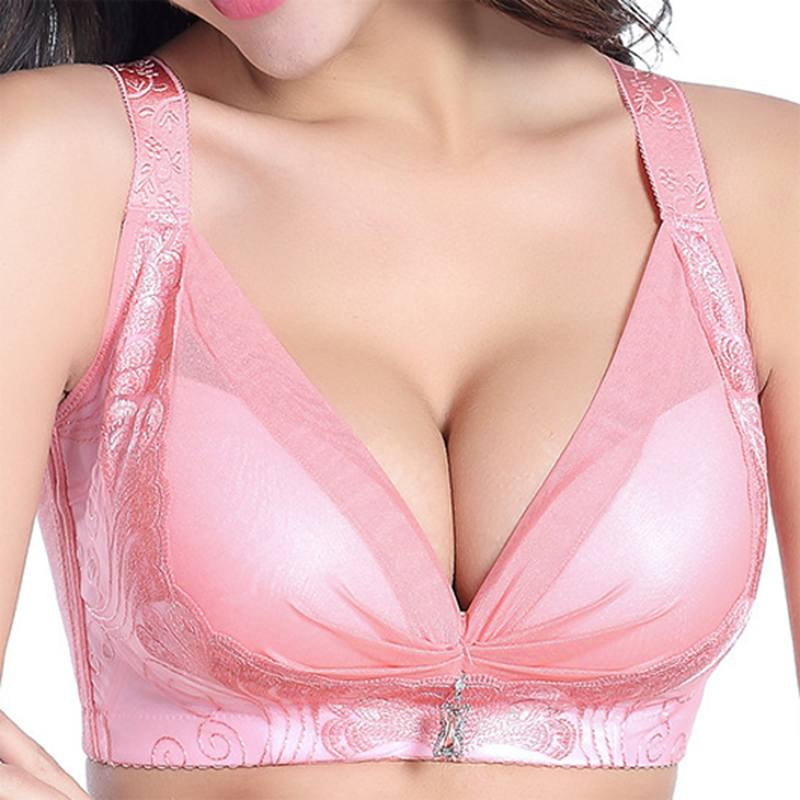 Women Bra Bralette Wireless Gather Adjustable Lace Brassiere Fashion Comfortable Sexy Ladies Bras Women Underwear Oversized