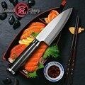Японский нож Деба кухонные ножи шеф-повара из нержавеющей стали профессиональные инструменты для приготовления пищи сашими из лосося и тун...