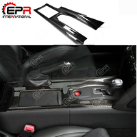 For Nissan R35 GTR Carbon Fiber Center Console Cover LHD Car Interior Accessories GT R Inner Trim Tuning Body Kit Drift Part