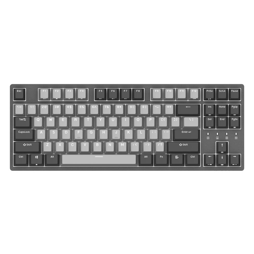 Cherry MX marron/bleu/rouge commutateur PBT Keycaps clavier de jeu mécanique type-c clavier filaire pour Gamer