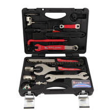 Bicycle Repair Tool BIKEHAND YC-728 18 in 1 Kit Professional Bike Repair Tool High Quality High Quality bike hand 4 in 1 axis tool yc 304b multi function bike bicycle repair tools bottom bracket top quality