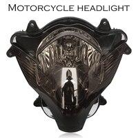 دراجة نارية المصباح رئيس ضوء لسوزوكي GSXR 600 750 K6 2006 2007 GSXR600 GSX-R750 تان ABS عدسة قذيفة لا لمبة