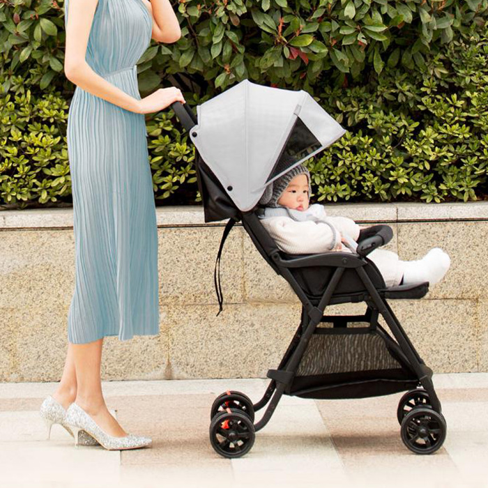 Xiaomi Youpin Baby Stroller Remove Wash 3-Stage Waterproof Canopy Stepless Adjustment Of The Sitting Angle Kids Wheels StrollerXiaomi Youpin Baby Stroller Remove Wash 3-Stage Waterproof Canopy Stepless Adjustment Of The Sitting Angle Kids Wheels Stroller