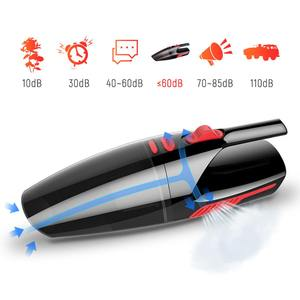 Image 2 - Portable 4m Cord length Handheld Car Vacuum Cleaner Wet/Dry Vaccum Cleaner for Car Home 120W 12V 5000PA
