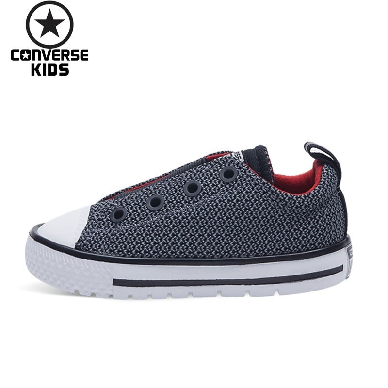 CONVERSE Children's Shoes Weave Noodles Men Baby Leisure Time Canvas Walking Shoes #759980C S