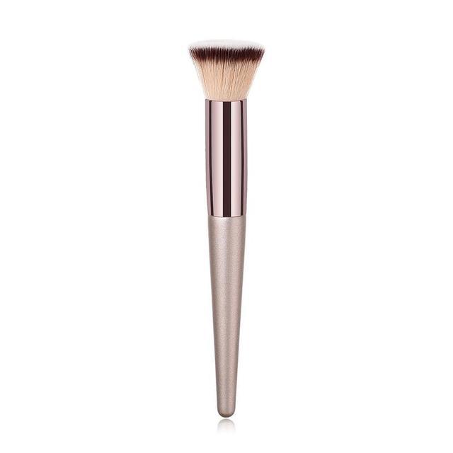 1 pincel profesional para maquillaje, brocha plana, brocha para colorete, herramientas de belleza fáciles de usar y portátiles