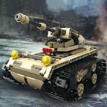 552 pcs 2.4G RC tank DIY Assemble robot car Remote control car wooden block toys Army tank Building Blocks Bricks robot gift цена 2017