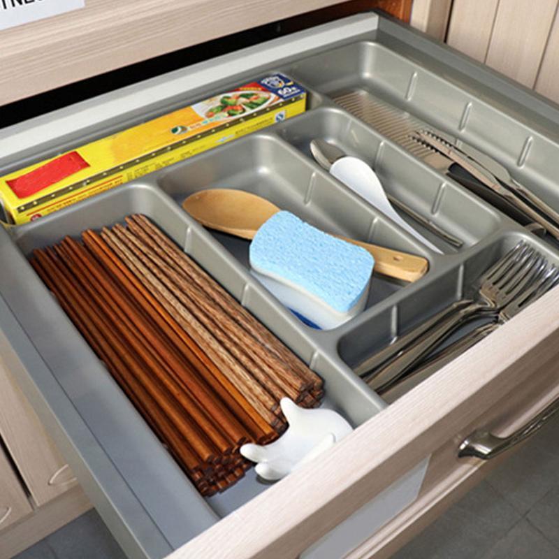 ABS Drawer Cutlery Tray Kitchen Cabinet Chopsticks Cutlery ...