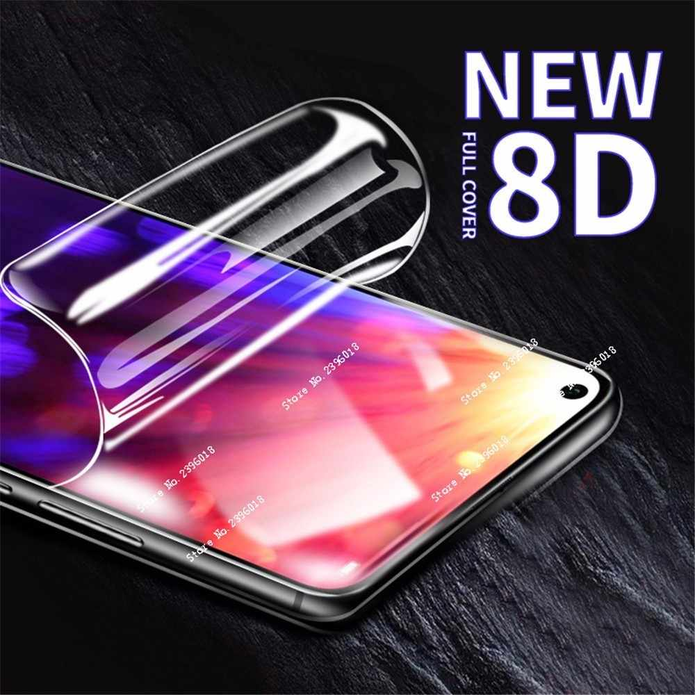 New 8D Full Screen Hydrogel Film For Huawei Mate 20 P 30 20  Lite Pro Protector Film For Huawei Nova 3i 4 4E 3E Protective Film