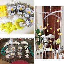 Беременная мама ручной работы детские погремушки набор DIY кровать колокол Материал посылка игрушка новорожденных детская кроватка крутящиеся колокольчики на кровать игрушки
