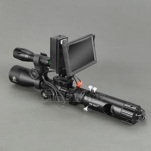 Image 3 - 100 M DIY Digital Night Vision Rilfe ขอบเขตไฟฉาย LED สำหรับ Night การล่าสัตว์เกียร์ Night Vision Sight Hot ขาย