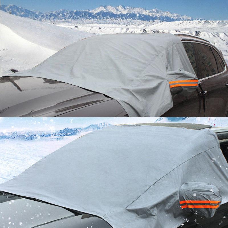 Vehemo Передняя Солнцезащитная шторка для окна автомобиля Лобовое стекло Солнцезащитный козырек SUV солнцезащитный чехол для снежной зимы авто солнцезащитный козырек портативный