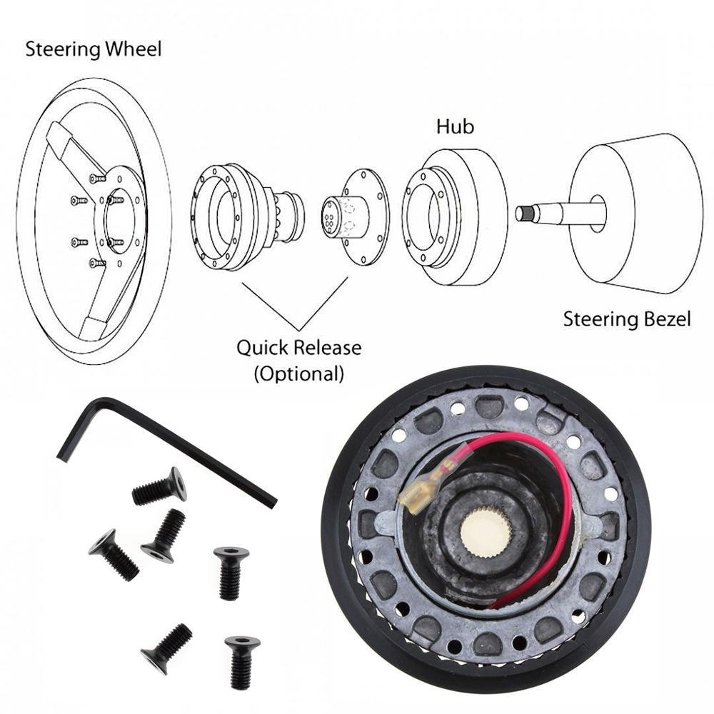 Auto Stuurwiel Aluminium Boss Kit Racing Hub Adapter voor TOYOTA Auto Stuurnaaf Adapter
