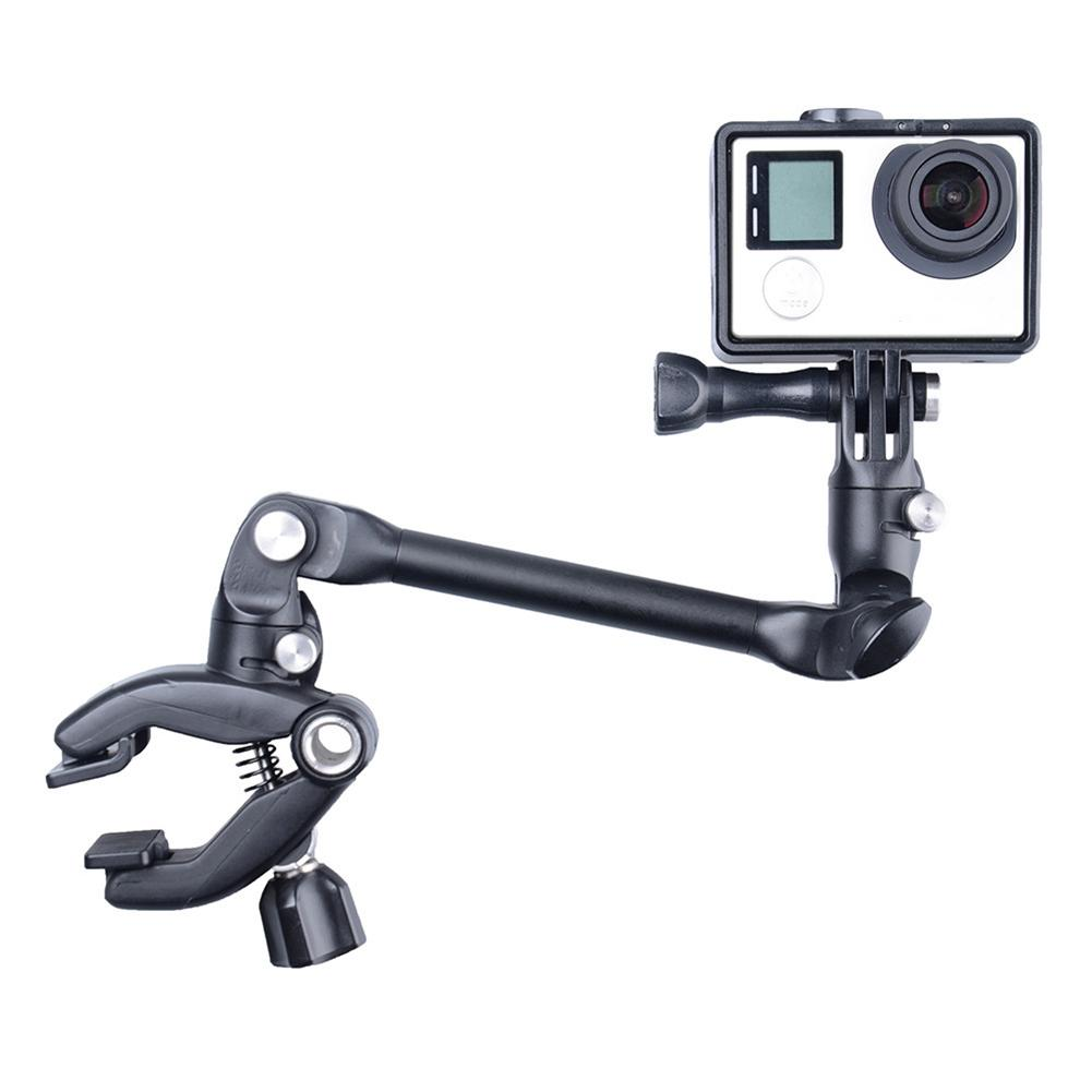 360 Rotation Music Clip Accessories The Jam Adjustment Guitar Drum Bracket Holder for GoPro/XIaoyi/SJCAM/AEE Sports Camera Stand